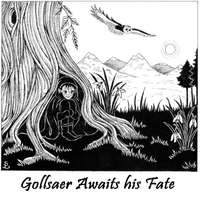 0.Gollsaer Awaits his Fate
