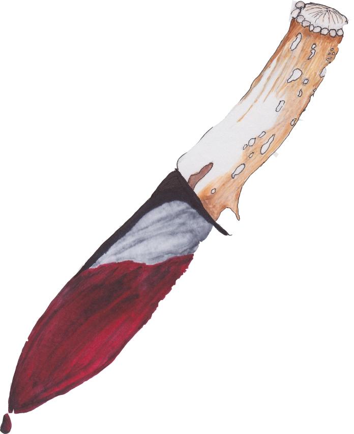 Marys bloody knife